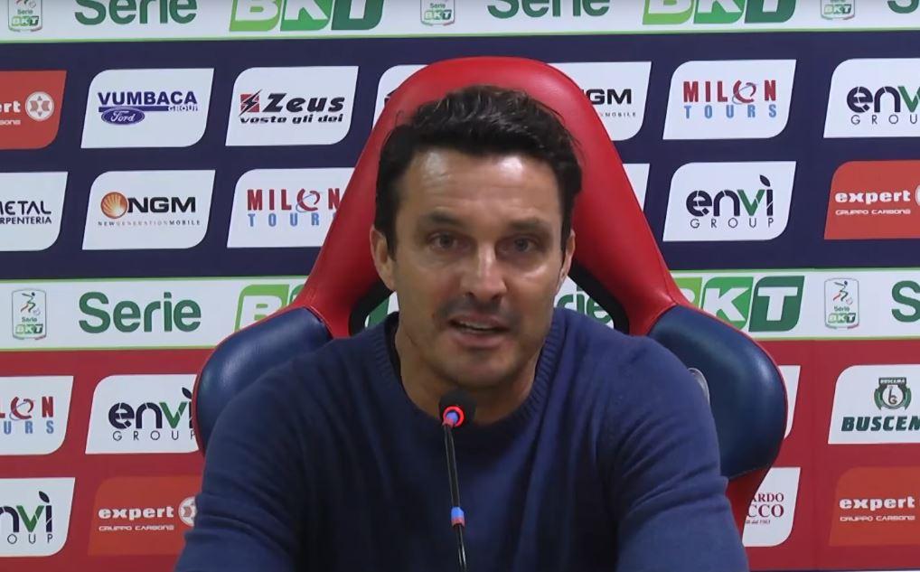 Massimo Oddo commenta la partita tra Crotone e Carpi