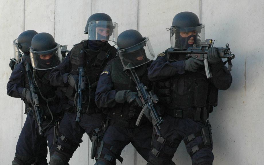 Nocs Polizia di Stato Issam SHALABI