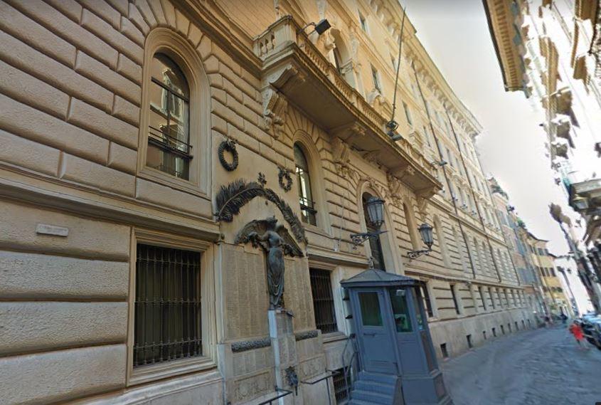 Palazzo San Macuto, a Roma, sede della Commissione parlamentare antimafia