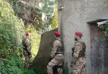 Perquisizione Carabinieri Cacciatori