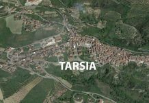 Una panoramica di Tarsia