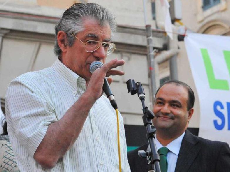 Umberto Bossi Francesco Belsito