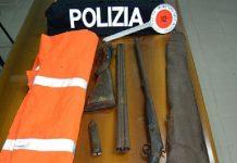 Trovati con fucili clandestini, arrestati padre e figlio