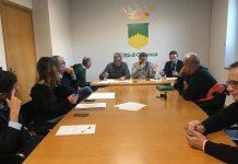 La riunione al comune tra consiglieri della Commissione controllo e garanzia e Sorical