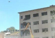 demolizione hotel jolly