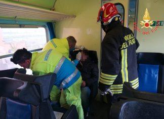feriti treno catanzaro Crotone