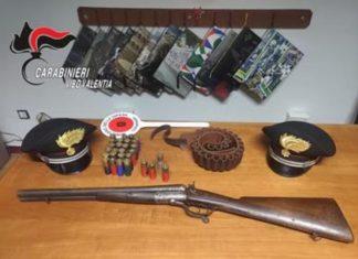 fucile clandestino monterosso calabro