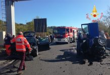 incidente stradale SS 280