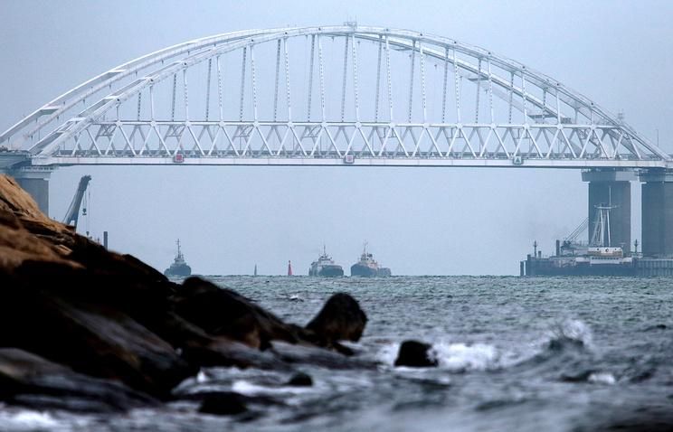 ponte russo stretto di Kerch