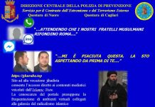 Terrorismo: arrestato a Macomer voleva usare veleno cancerogeno