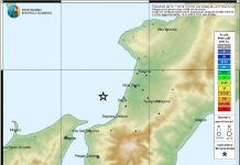 terremoto Palmi costa tirrenica