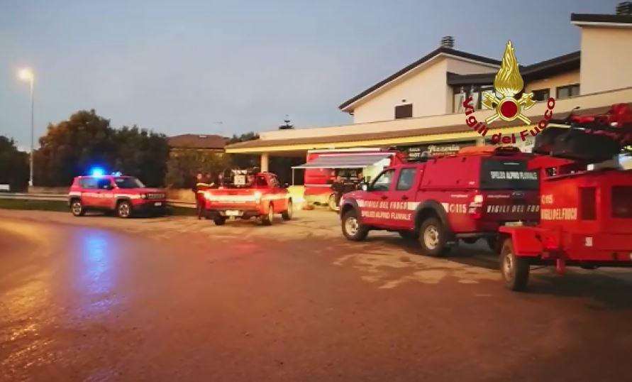 vigili del fuoco catanzaro