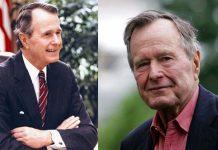 L'ex presidente Usa George H. Bush
