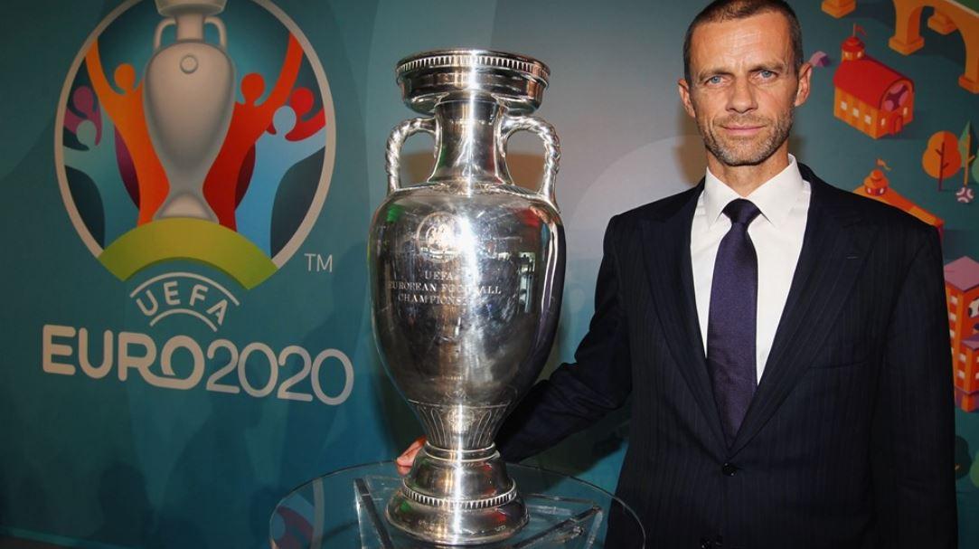 Il Presidente UEFA Aleksander Čeferin EURO 2020