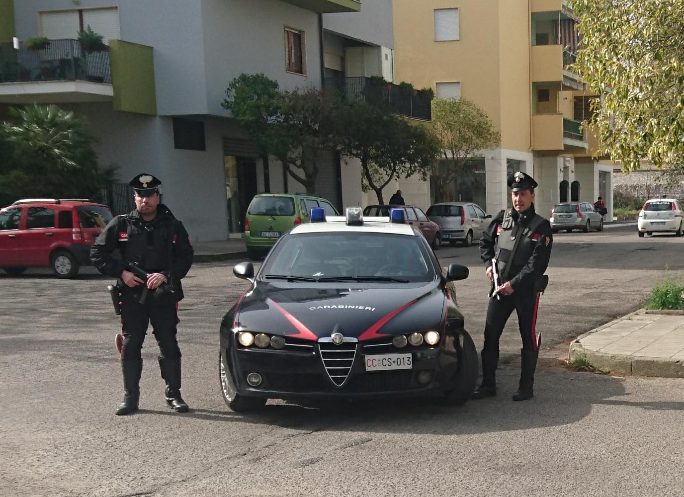 Radiomobile carabinieri cs