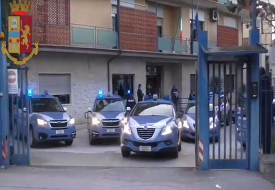 blitz antidroga a Manfredonia