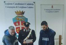 carabinieri corigliano cocaina