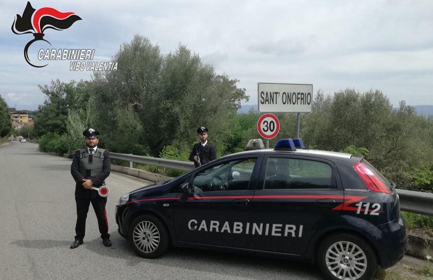 carabinicarabinieri sant onofrio viboeri sant onofrio vibo