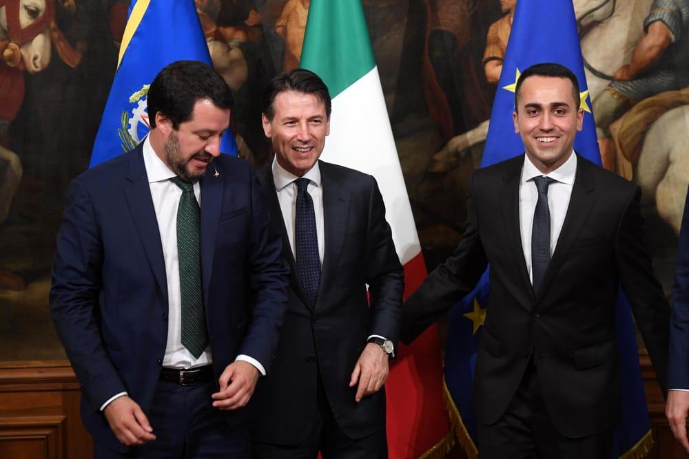 Un anno fa nasceva il governo M5s-Lega con premier Giuseppe Conte
