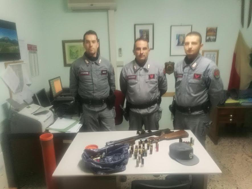 fucile carabinierei forestali cosenza