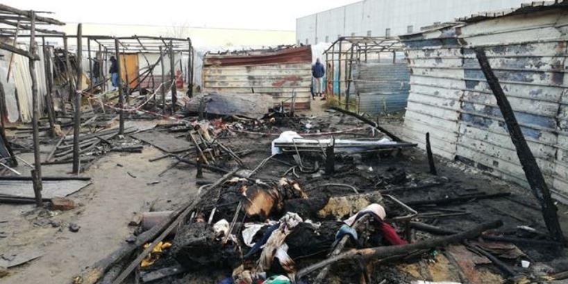 incendio baraccopoli san ferdinando