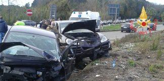 incidente stradale ss 280 due mari