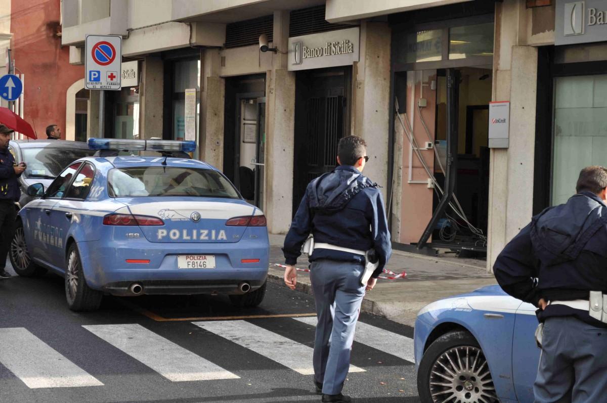 intervento Polizia rapina