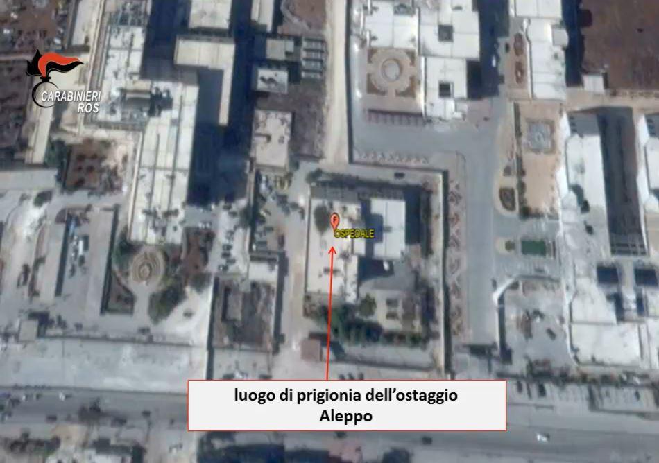 luogo prigionia siria Federico Motka