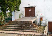 La rampa della discoteca dove si è consumata la strage a Corinaldo