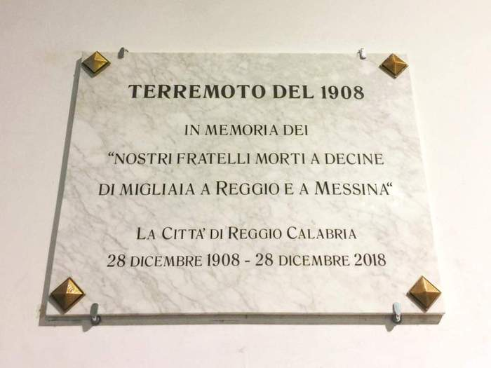 Terremoti: anniversario sisma del 1908, Reggio Calabria lo ricorda
