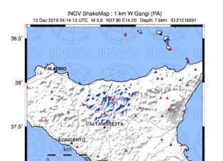 terremoto gangi