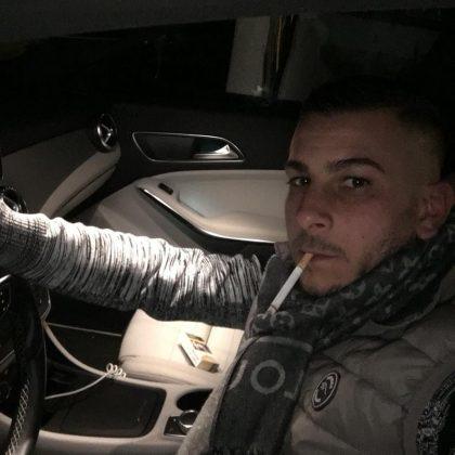 La giovane vittima Antonio Barbieri