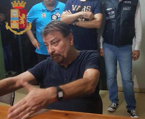 Cesare Battisti dopo arresto