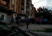 controlli polizia quartiere rom