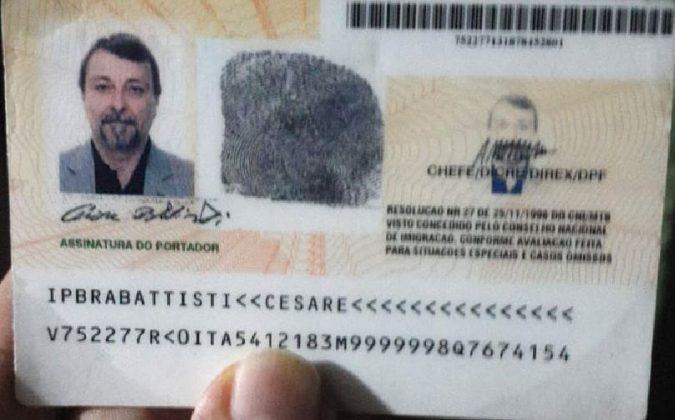Il documento di Cesare Battisti
