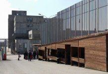 L'ingresso del carcere di Siano a Catanzaro.