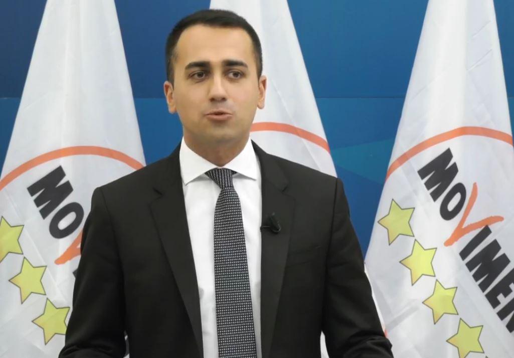 Luigi Di Maio conferenza stampa