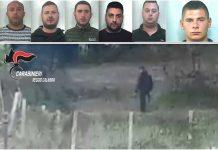 arrestati rapine seminara operazione Diana