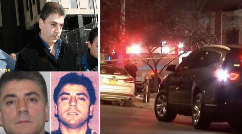Alcune immagini del boss Frank Calì e il luogo dell'omicidio a NY