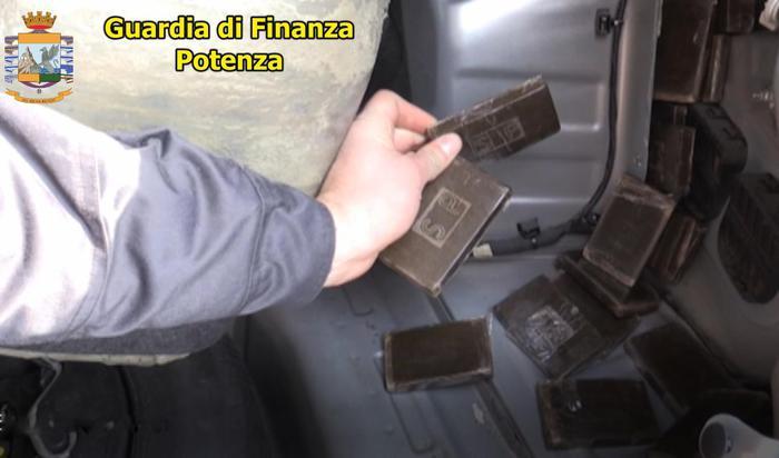 Droga: un arresto a Lauria (Potenza)