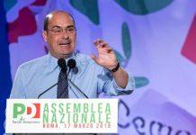 Il neo segretario del PD Nicola Zingaretti