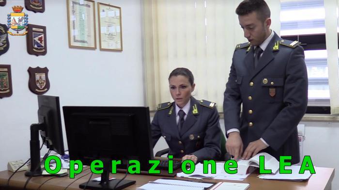 Operazione Lea finanza crotone confiscati-beni imprenditore Natale Garofalo