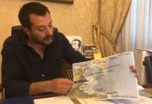 Salvini mappa mercantile dirottato