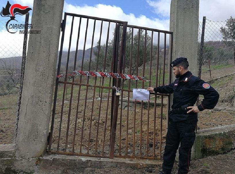 carabinieri forestali depuratori