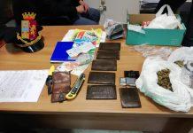 droga e altro polizia cosenza