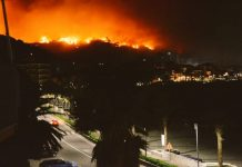 Devastante incendio a Cogoleto (Genova), sfollate famiglie