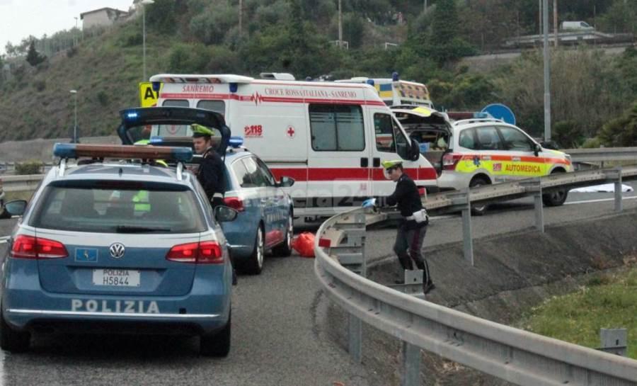 incidente mortale autostrada