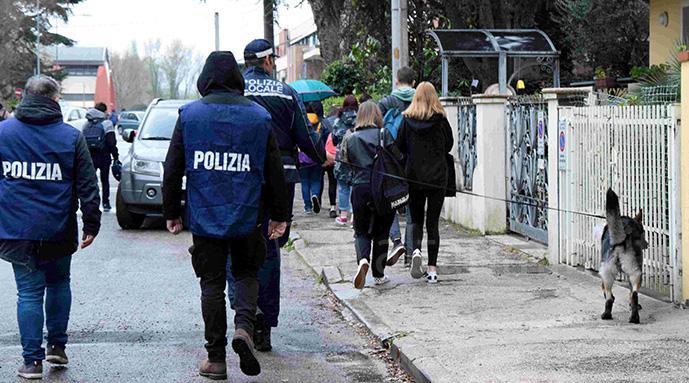 unità cinofile polizia droga
