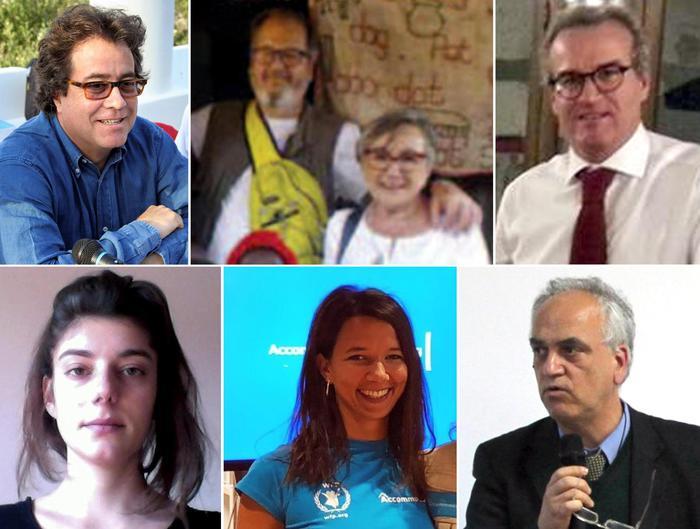 Sette delle vittime del disastro aereo