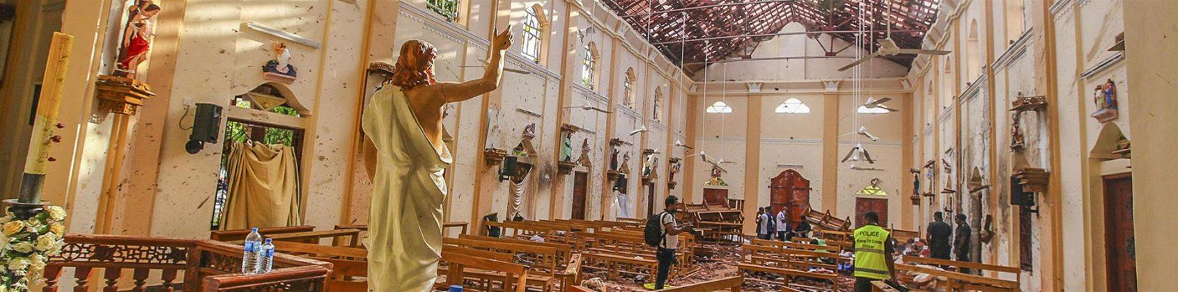 Attentato chiesa Sri Lanka